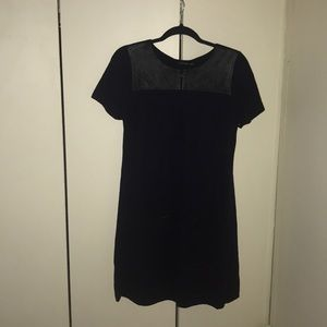 Massimo Dutti Navy Blue knit dress